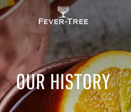 Histoire de la marque tonique fever tree