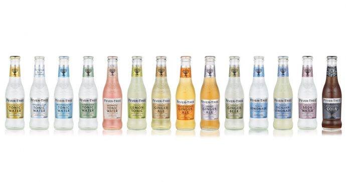 Gamme tonic fever tree