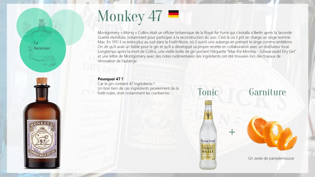 Présentation du Monkey 47 Gin